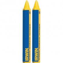 Мелок разметочнй Irwin желтый 2шт (T666062)