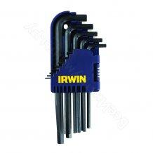 Набор ключей шестигранных Irwin коротких Torx T6-T40 10шт (T10755)