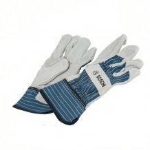 Защитные перчатки из бычьей кожи Bosch GL FL 10, 1 пара (2607990108)