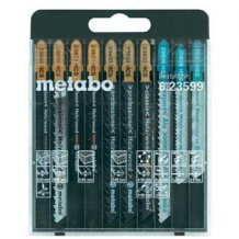 Набор полотен Metabo для лобзика SP, 10 предметов (623599000)