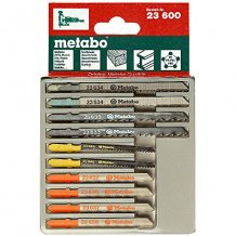 Набор полотен Metabo для лобзика 10 предметов (623600000)