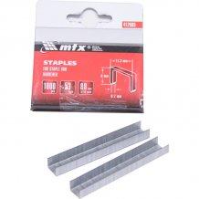 Скобы для мебельного степлера MTX MASTER 8мм, тип 53, 1000шт (412089)