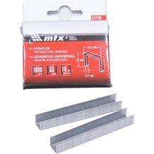 Скобы для мебельного степлера MTX MASTER 10мм, тип 53, 1000шт (412109)