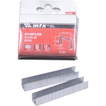 Скобы для мебельного степлера MTX MASTER 12мм, тип 53, 1000шт (412129)