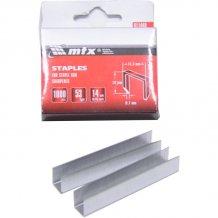 Скобы для мебельного степлера MTX 14мм, тип 53, заостренные 1000шт (411449)