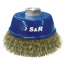 "S&R щетка 60мм  \'\'Чашка"" металич. д/КШМ M14 (135131060)"