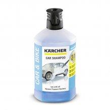 Автомобильный шампунь Karcher Plug \'n\' Clean 3-в-1, 1 л, 1 л