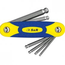 S&R набор шестигран.6ед. (3-10мм)