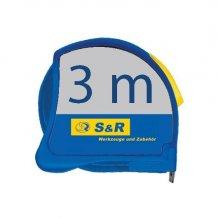 S&R 3м - 19мм метал.корпус рулетка