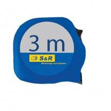 S&R 3м - 19мм прорез.корпус рулетка