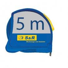 S&R 5м - 25мм рулетка метал.корпус