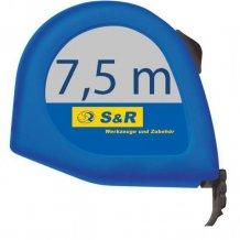 S&R 7,5м х 25мм рулетка Q-серия блист