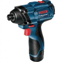 Аккумуляторный ударный гайковерт Bosch GDR 120 LI + набор сверл