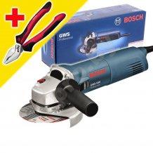 Угловая шлифовальная машина Bosch GWS 1400 + Плоскогубцы Wiha