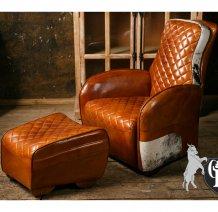 Кресло с пуфом Grand Devon Rocksons