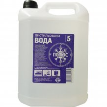 Дистиллированная вода для парогенератора Полюс 5 л