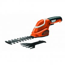 Аккумуляторные садовые ножницы-кусторез BLACK+DECKER GSL700KIT