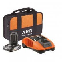 Аккумулятор 12 В, 4 Ач, Li-Ion AEG L1240 + зарядное устройство LL1230 (4932430393)
