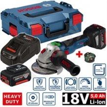 Аккумуляторная болгарка Bosch GWS 18V-10SC 06019G340D