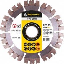 Алмазный круг Baumesser отрезной 1A1RSS/C3-H 125x2,0/1,2x10x22,23-10 Baumesser Rapid PRO