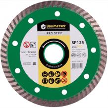 Диск алмазный Baumesser Turbo 125x2,2x8x22,23Stein PRO (90215082010)