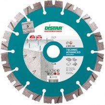 Диск алмазный отрезной по бетону DISTAR 1A1RSS/C3 180x2,6/1,8x12x22,23-14 HIT Technic Advanced (14315347014)
