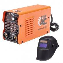 Сварочный аппарат инверторного типа ТехАС (ТА-00-101ДК) + сварочная маска TexAC (ТА-02-121)