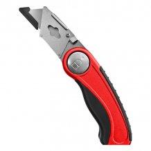 Складной трапециевидный нож STARK (506111205)