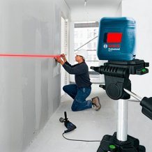 Лазерный нивелир Bosch Professional GLL 2 + MM 2 (0601063A01)