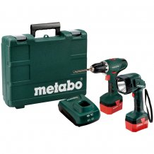 Metabo BS 12 NICD + Фонарь ULA 12 602194600