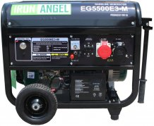 Генератор IRON ANGEL EG 5500 E3-М