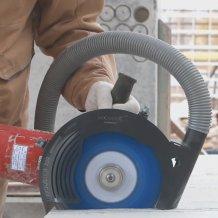 Защитный кожух для резки без пыли Mechanic Air Duster 230 мм