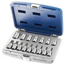 """Набор инструментов Stanley EXPERT 1/2"""" 16 ед. TORX  (T20-T60, головки E10-E20, E24) E032907"""