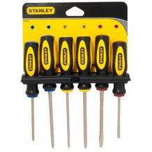Набор отверток  Stanley 6 ед. SL-4шт/Ph-2шт (0-64-458)