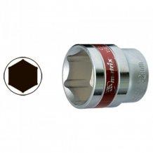 """Головка торцевая MTX 10 мм.   6-гранная, CrV, под квадрат 1/2 """", хромированная (131109)"""