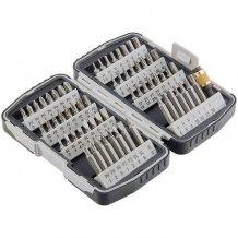 Набор бит, магнитный адаптер,CrV, в пластиковом боксе MTX (113279)