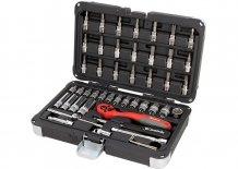 Набор инструмента 1/4, CrV, S2, усиленный кейс, 47 предметов MTX (135509)