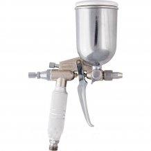 Краскораспылитель пневмат. для финишных работ с верхним бачком V=0,2 л, диам. сопла 0,5 мм// MTX (573189).
