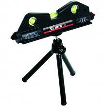 Уровень лазерний, 170 мм, 150 мм штатив, 3 глазка MTX (350209).