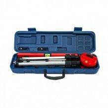 Уровень лазерний, 400 мм, 1050 мм штатив 3 глазка, набор (база, 2 линзы) в пластиковом боксе MTX (350299).