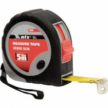 Рулетка 5мх19мм MTX Rubber (310029).