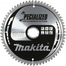 Пильный диск Makita по алюминию SPECIALIZED 160x20 мм 60T (B-09553)
