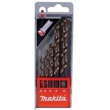 Набор сверл по металлу HSS Makita 5 шт (D-30508)