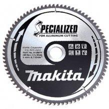 Пильный диск Makita по алюминию SPECIALIZED 250x30 мм 80T (B-09709)