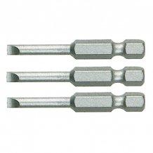 Биты Makita 0.5x3x50 плоский шлиц (P-06155)