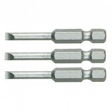 Биты Makita 0.6x4.5x25 плоский шлиц (P-06177)