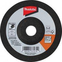 Гибкий шлифовальный диск Makita 100x2x16 80T для нерж. стали (B-18443)