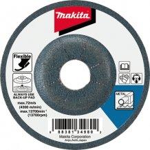 Гибкий шлифовальный диск Makita 115х3 80Т по металлу (B-18306)
