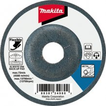Гибкий шлифовальный диск Makita 125х3 36т по металлу (B-18312)